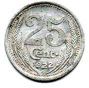 25 centimes - Chambre de Commerce - Eure et Loir [28] -  revers