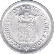 5 Centimes - Chambre de commerce -  Eure & Loir [28] – avers