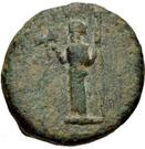 Bronze Æ17 (Euromos) – avers
