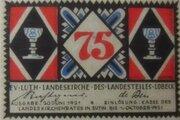 75 Pfennig Eutin (Ev. Luth. Landeskirche) -  avers