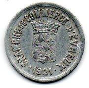 25 centimes - Chambre de Commerce - Evreux [27] – avers