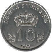 10 Königsthaler – revers
