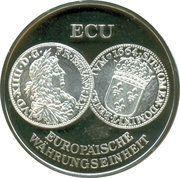 ECU / 22nd Thaler of Europe – avers