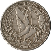 $10 (World Peace for the third millenium) -  revers