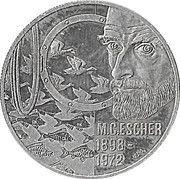 5 Euro - BEATRIX (M.C.Escher -1898/1972-) -  revers
