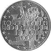 10 ECU - Beatrix (Franklin D. Roosevelt) -  avers