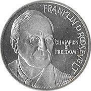10 ECU - Beatrix (Franklin D. Roosevelt) -  revers