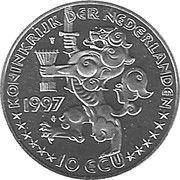 10 ECU - Beatrix (Netherlands-Russia) -  avers