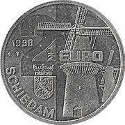 2½ EURO - Schiedam (de 3 Koornbloemen -1770-) -  avers