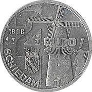 2½ EURO - Schiedam (de Walvisch 1794) -  avers