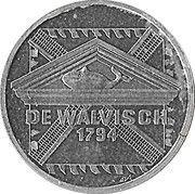 2½ EURO - Schiedam (de Walvisch 1794) -  revers