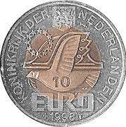 10 Euro - Beatrix (Maarten Tromp) -  avers