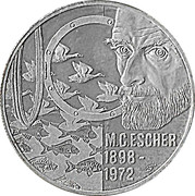 20 EURO - Beatrix (M.C.Escher -1898/1972-) -  revers