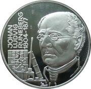 20 écus (Johan Ludvig Runeberg) -  revers