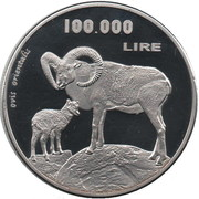 100.000 Lire – revers