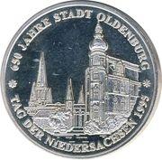 1 ECU (Oldenburg) – revers