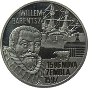 5 Euro -Beatrix (Willem Barentsz) -  revers
