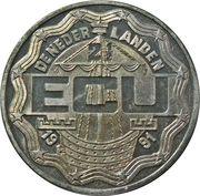 2½ ecus (75e int. vierdaagse Nijmegen) -  avers