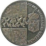 2½ ecus (75e int. vierdaagse Nijmegen) -  revers
