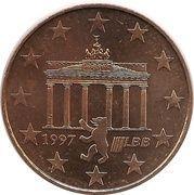 Europawoche 1997 Berlin – avers