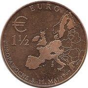 Europawoche 1997 Berlin – revers