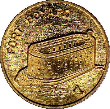 Fort Boyard Tête De Tigre Exonumia Numista