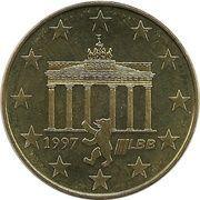 2½ Euro - Europawoche 1997 in Berlin – avers