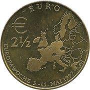 2½ Euro - Europawoche 1997 in Berlin – revers