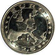 2½ EURO - Die grosse flut 1997 helden an der Oder – revers