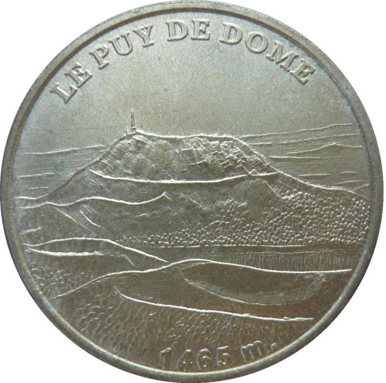 piece de monnaie touristique