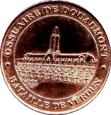 monnaie de paris ossuaire de douaumont
