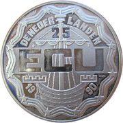 25 ECU 1990 -  avers
