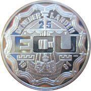 25 ECU 1991 -  avers