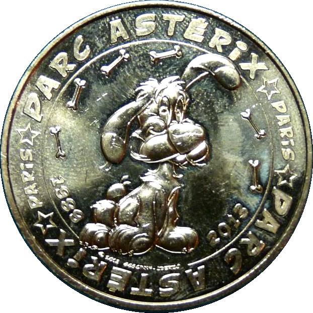 monnaie de paris idefix