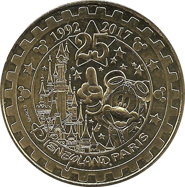 monnaie de paris disneyland 25 ans