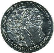 10 ECU - BEATRIX (Chr. Huygens -1629/1695- & Const. Huygens -1596/1687-) -  revers