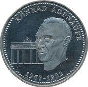 ECU (Konrad Adenauer) – revers