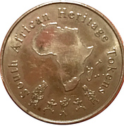 South African Heritage Token - Southernmost Tip of Africa – avers