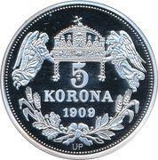 5 Korona (Bela IV) – revers
