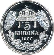 5 Korona (Henricus) – revers