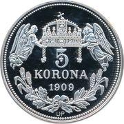5 Korona (Stephanus I) – revers