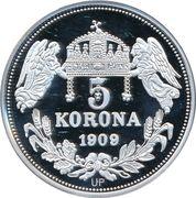 5 Korona (Ladislaus IV) – revers
