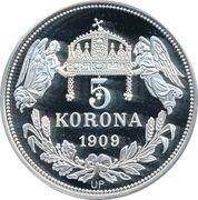 5 Korona (Andreas I) – revers