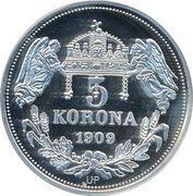 5 Korona (Salomoni) – revers