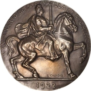 Medal - Centenary of the Battle of Pichincha – avers