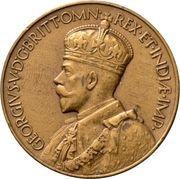 Medal - George V (Falkland Islands Centenary) – avers