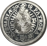 1 oz silver (3 Kreuzer) – revers