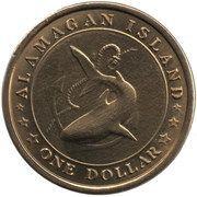 1 dollar Grandgousier-pélican – avers