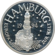 Hanse ECU (Hamburg) – avers