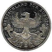 ECU (Konrad Adenauer) – avers